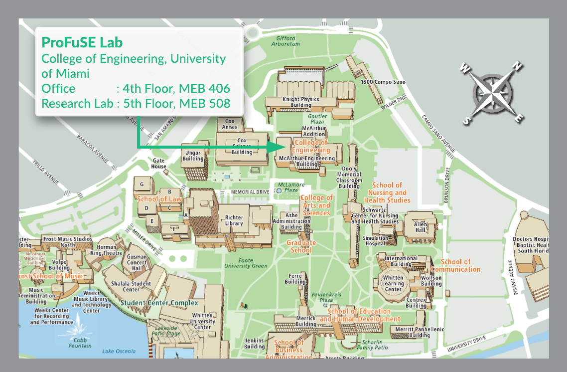 ProFuSE Lab on u of i campus map, siue campus map, university of central missouri campus map, wmu campus map, eastern florida state college campus map, university hospital campus map, smcvt campus map, miller school of medicine campus map, central michigan university campus map, national fire academy campus map, university of montevallo campus map, university of maryland eastern shore campus map, lr campus map, university at buffalo campus map, umich campus map, umd campus map, university of tokyo campus map, university of michigan campus map, barry university campus map,